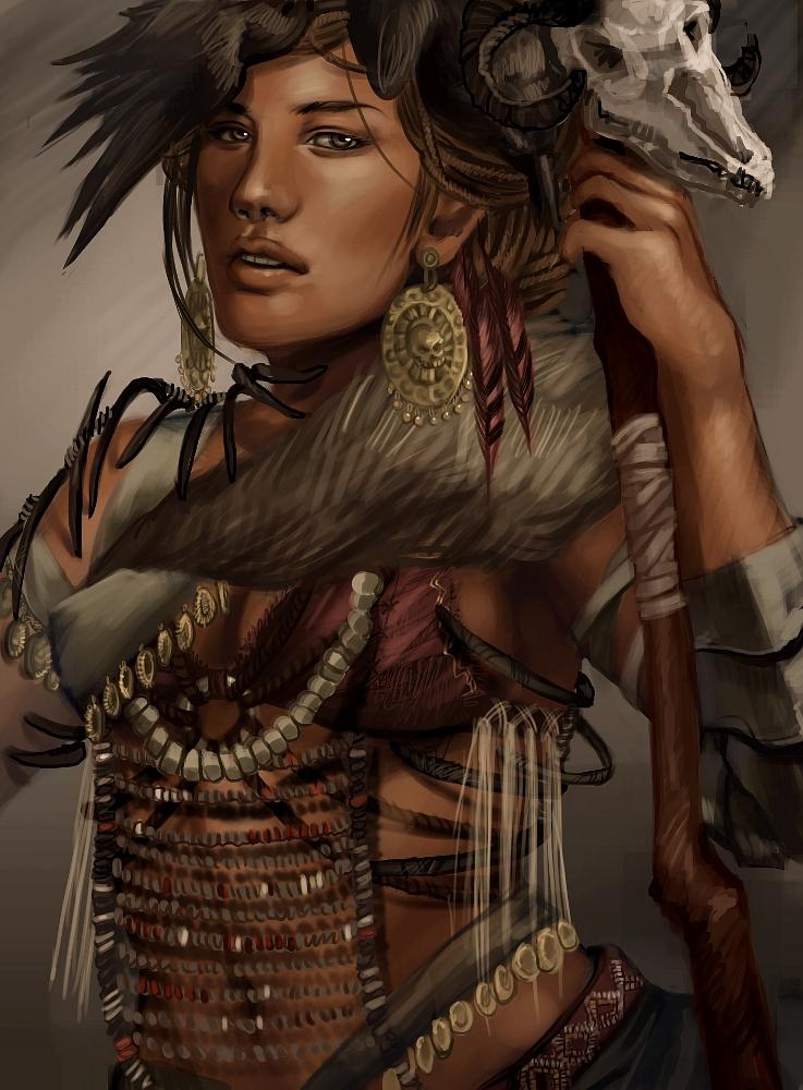 shaman by adelruna