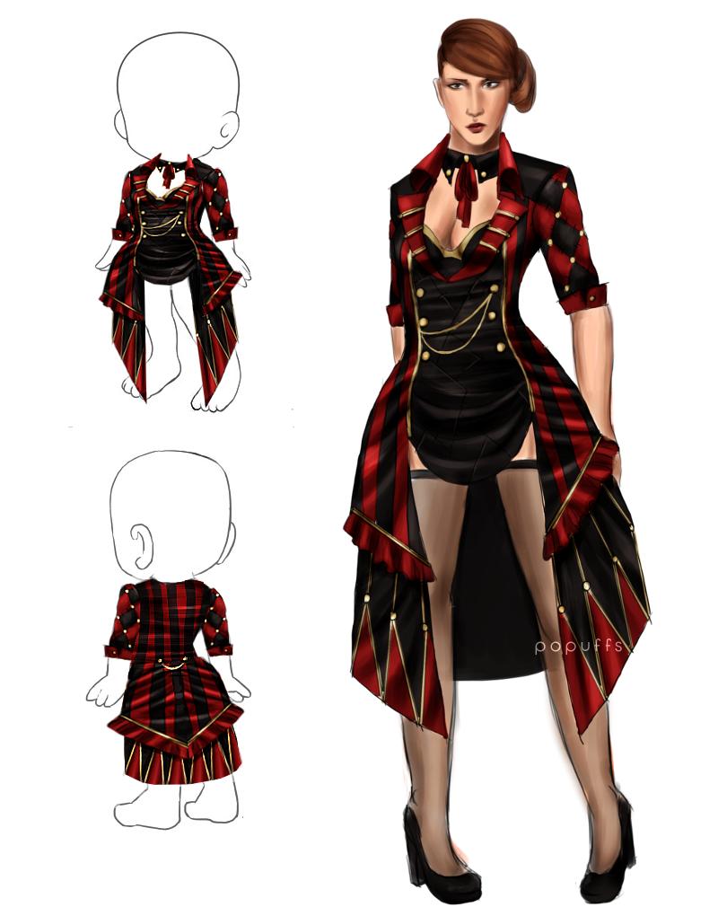 Harlequin Jacket by adelruna