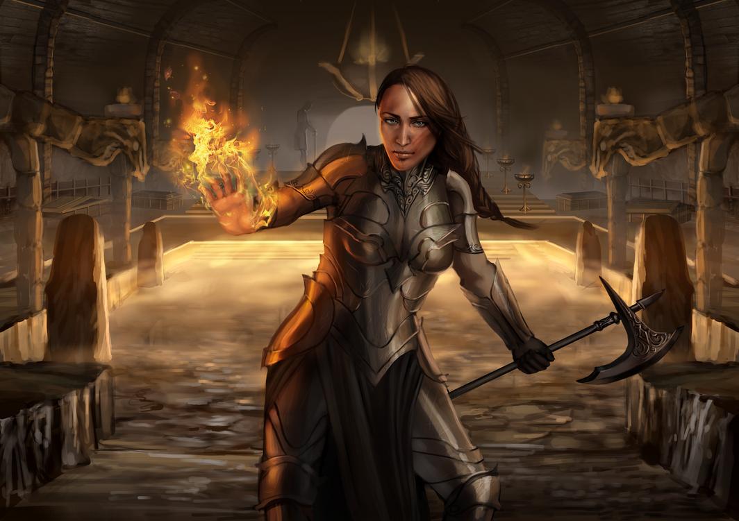 battlemage by adelruna