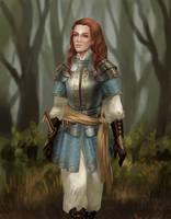 lady knight by adelruna