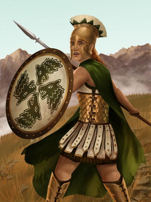 Queen Viarra by adelruna