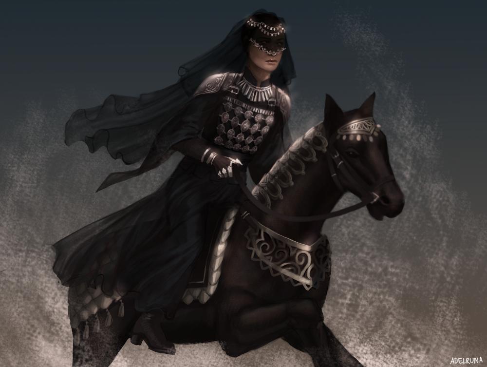 dark rider by adelruna