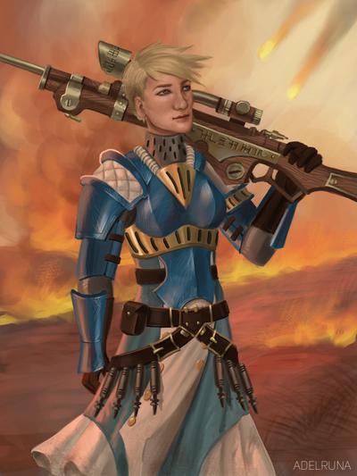 Kara Sloan by adelruna