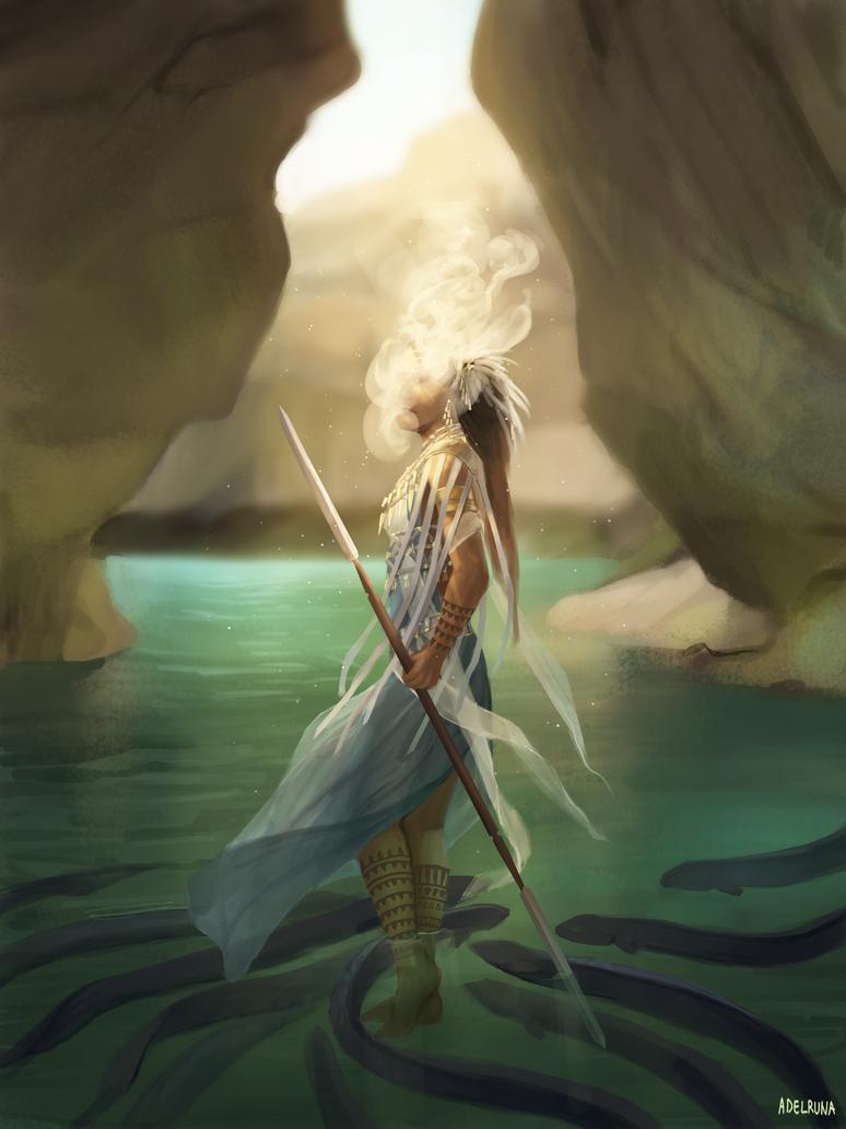 ocean diviner by adelruna