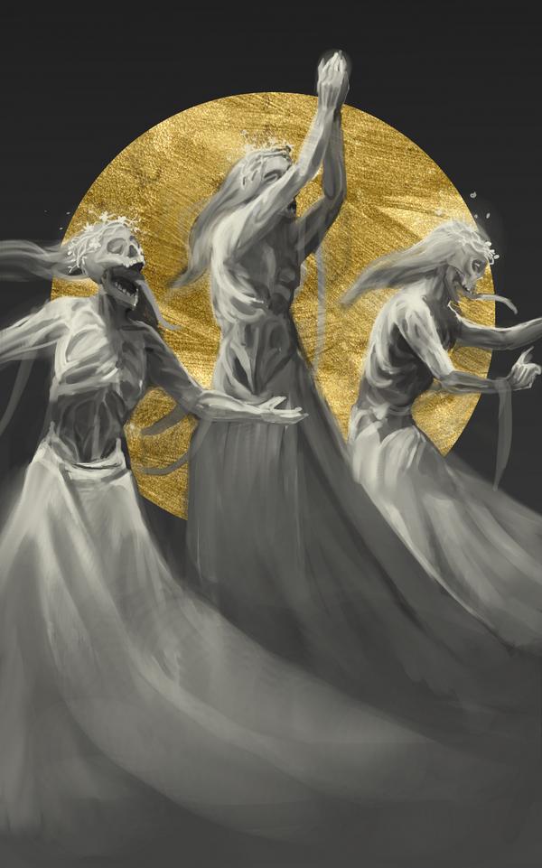 Wraiths by adelruna