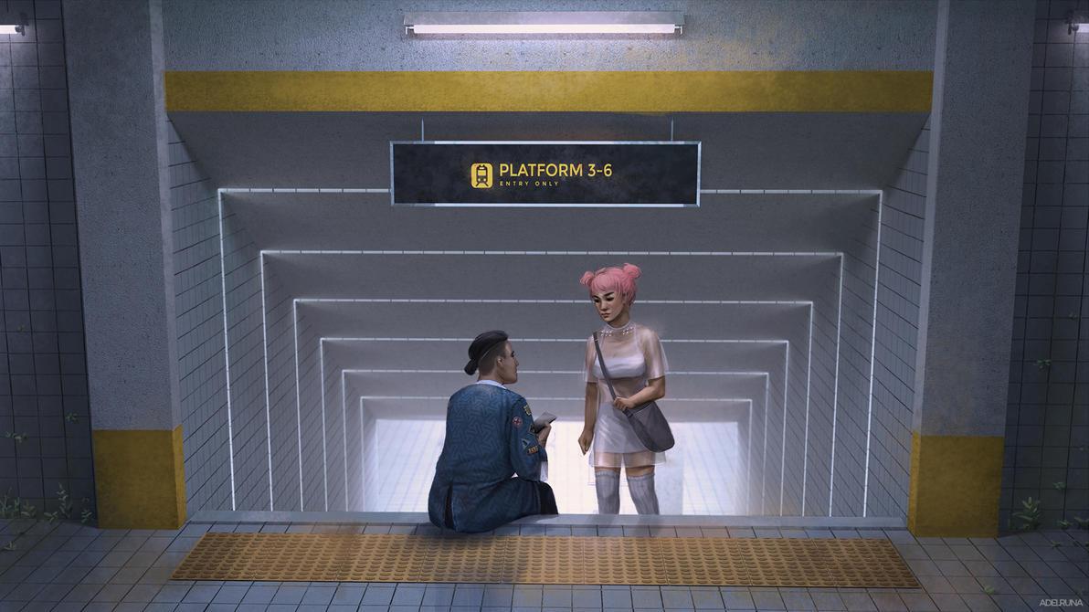 station by adelruna