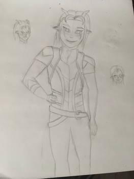 Rayla Sketch