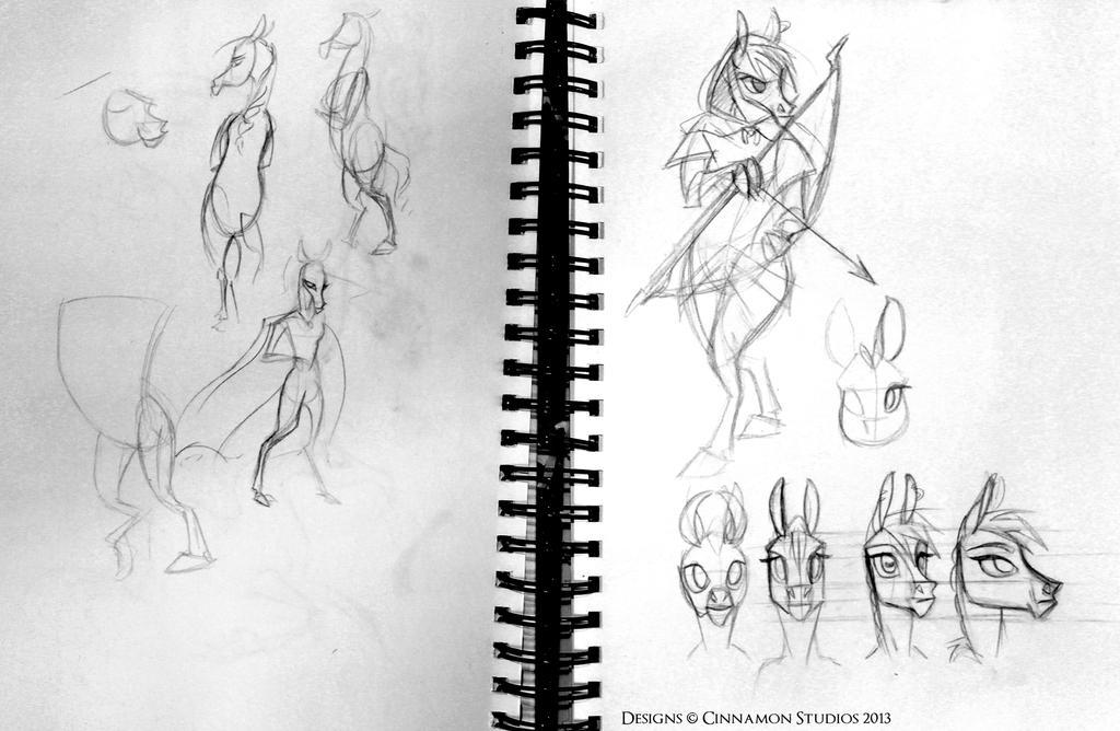 Pandora the Rogue - anthro Concept by CinnamonStudios