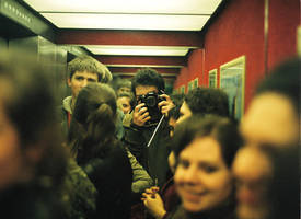 elevator waltz by optical-flare