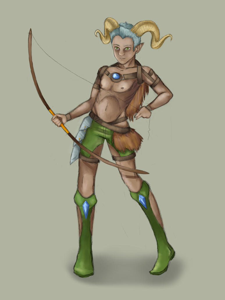 Elf horn naked picture