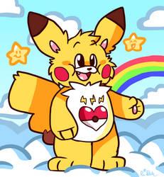 Static Heart Pikachu