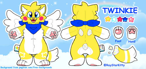Twinkie Official Reference! by RayStarKitty