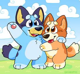 Bluey And Bingo!