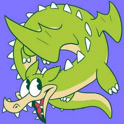 Grim Matchstick the Friendly Dragon!