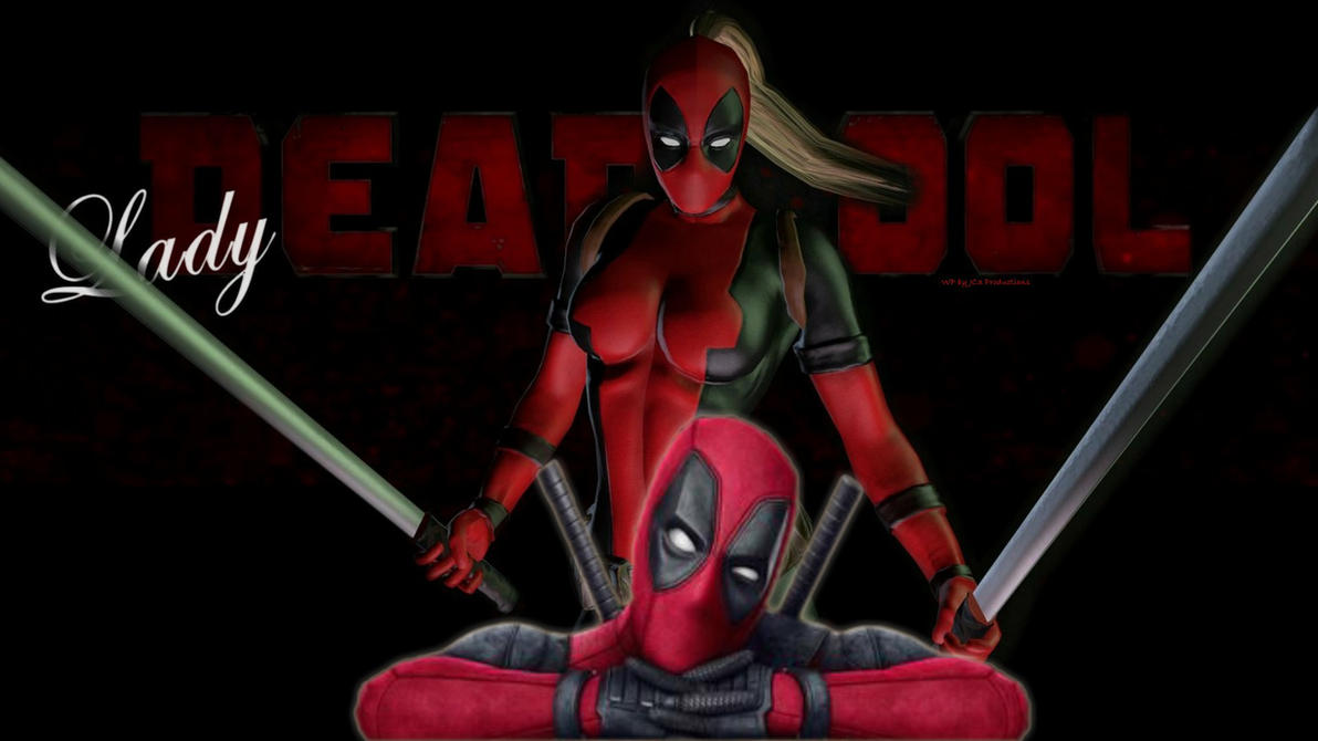 Lady Deadpool 9d  by Curtdawg53