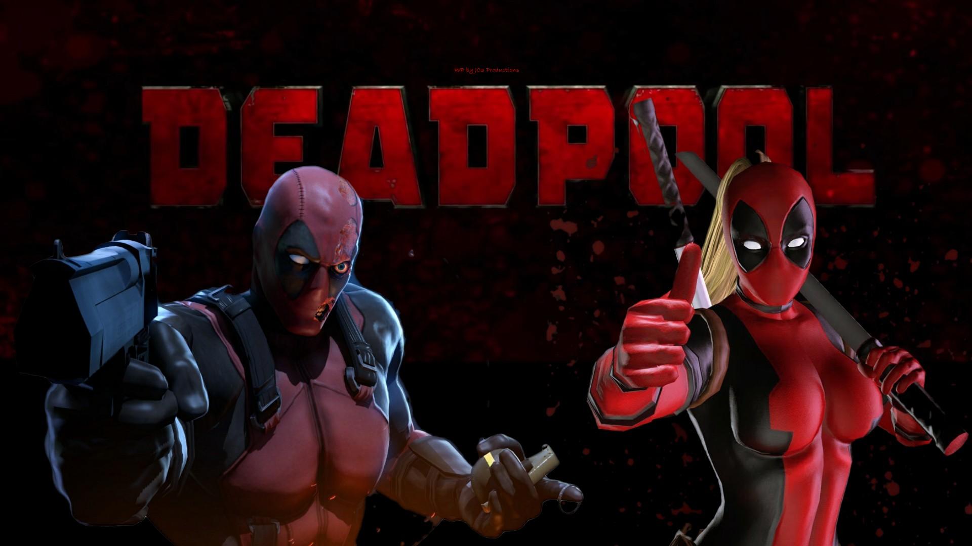 Lady Deadpool  Deadpool 7  by Curtdawg53