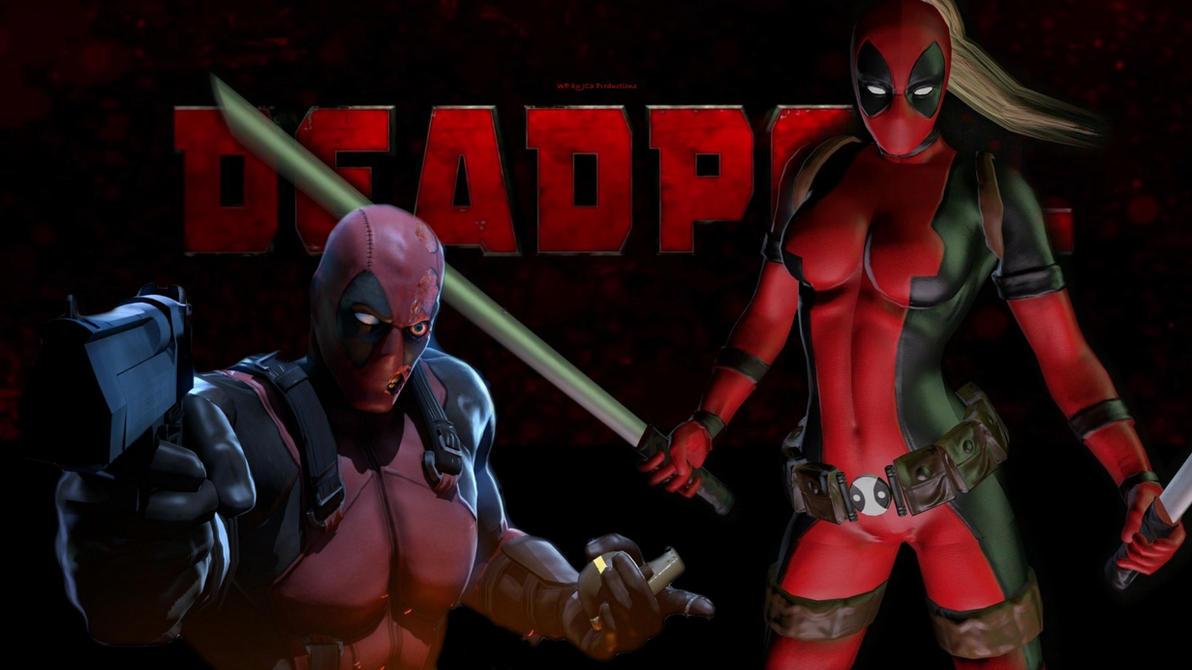 Lady Deadpool Wallpaper - Deadpool 8 by Curtdawg53