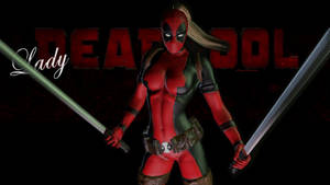 Lady Deadpool 8d  by Curtdawg53