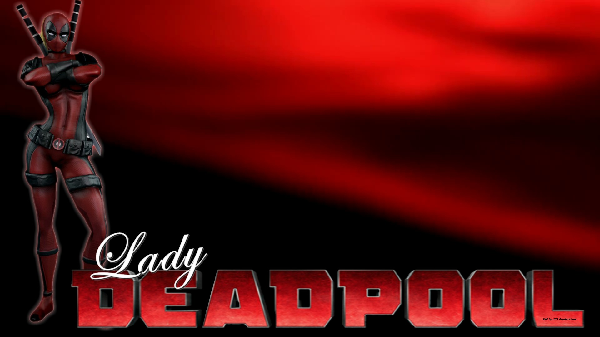 Lady Deadpool Wallpaper - With Attitude 2 by Curtdawg53