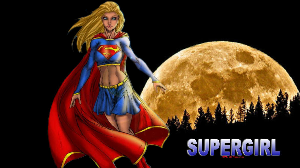 Supergirl - Super Moon by Curtdawg53