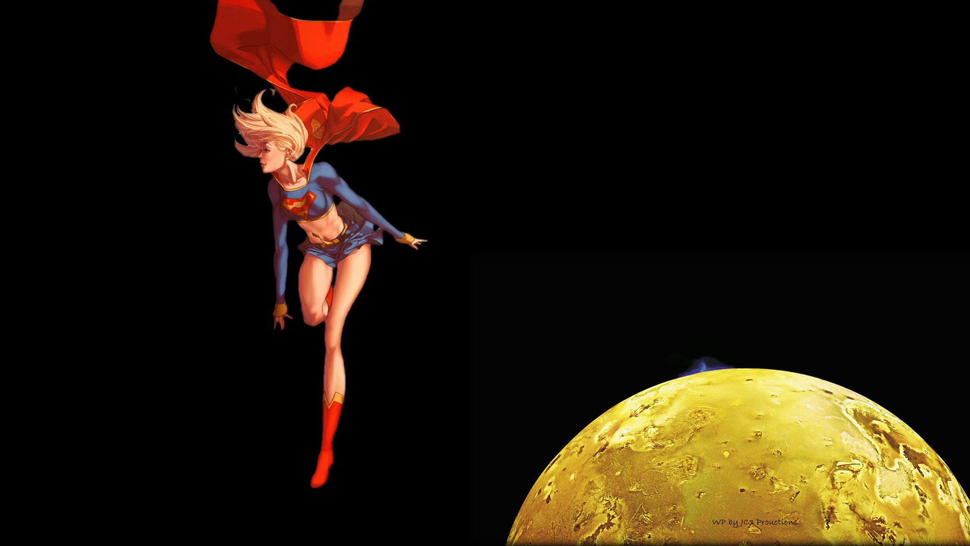 Supergirl in Space 1 by Curtdawg53
