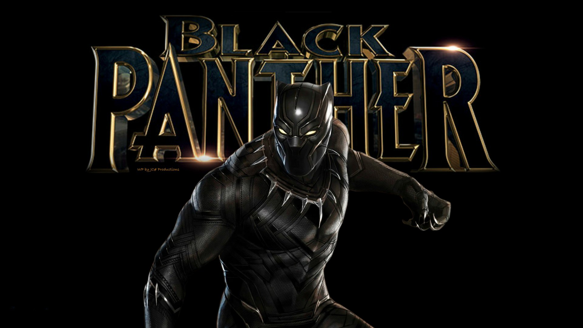 Black Panther Wallpaper 6c by Curtdawg53