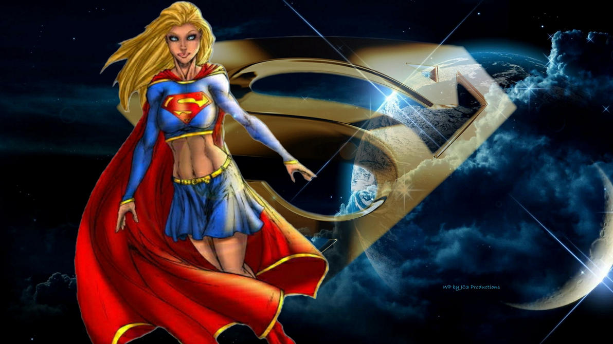 Supergirl Wallpaper - Space 7 by Curtdawg53