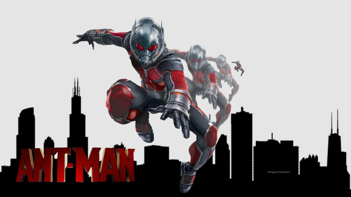 ANT-MAN Wallpaper - Growing 3 by Curtdawg53