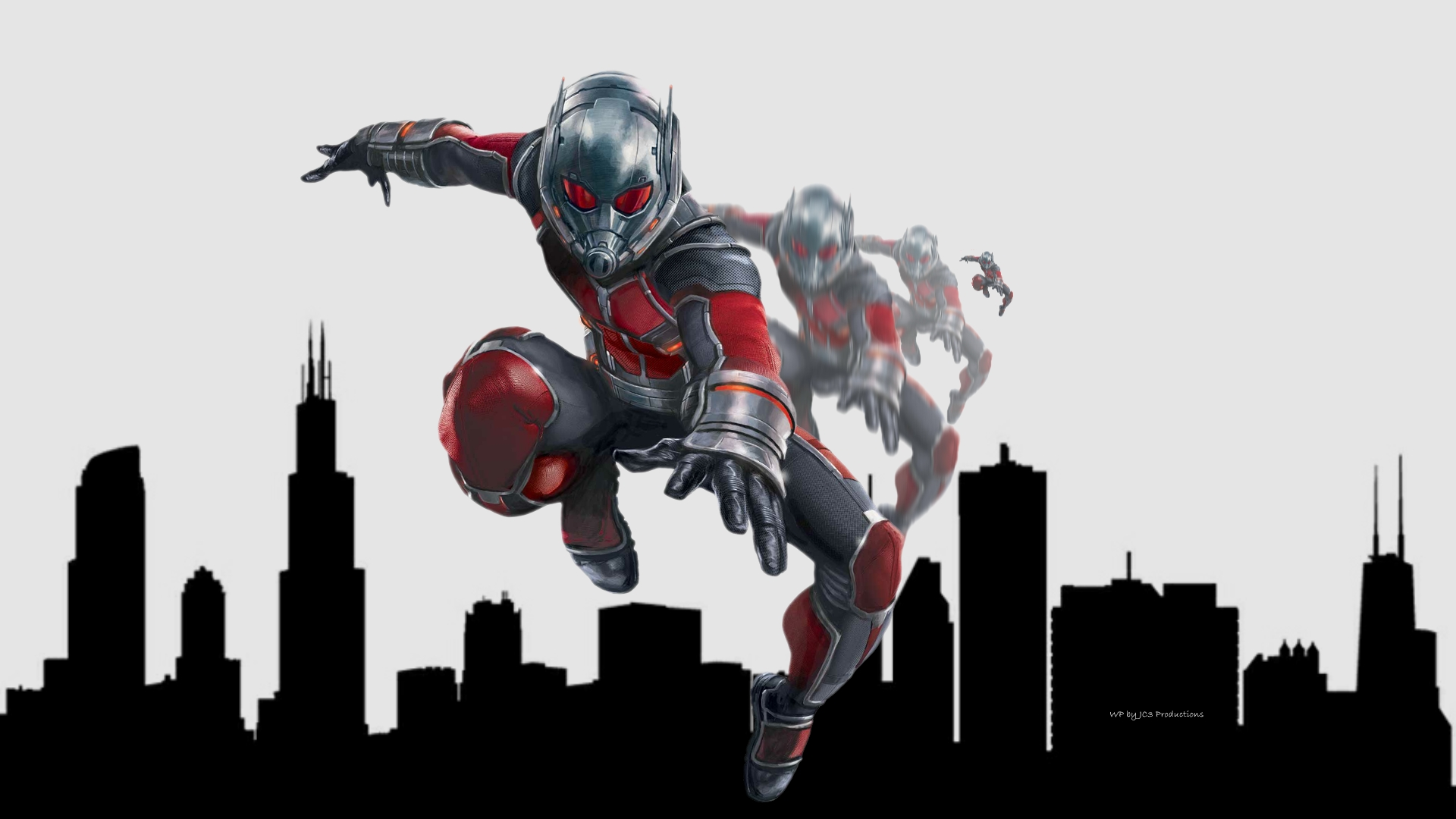 ANT-MAN Wallpaper - Growing by Curtdawg53