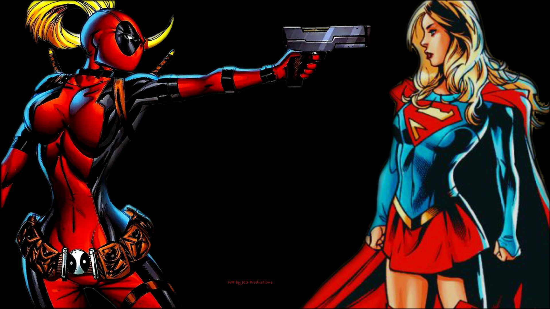 Lady  Deadpool Wallpaper - Got the Drop 2b by Curtdawg53