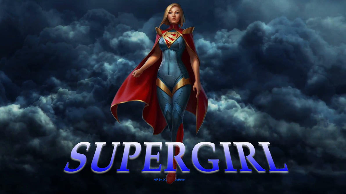 Supergirl Wallpaper - In The Clouds 2 by Curtdawg53