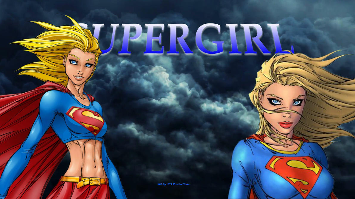 Supergirl Wallpaper - Times 2 a by Curtdawg53