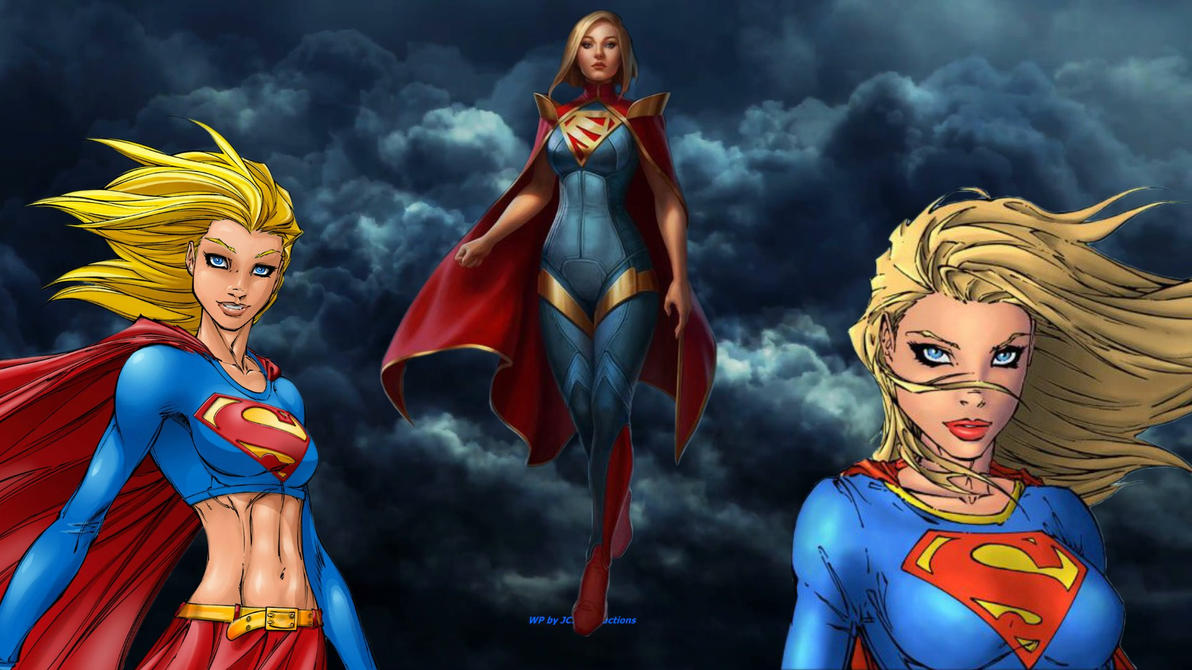Supergirl Wallpaper - Times 3 by Curtdawg53