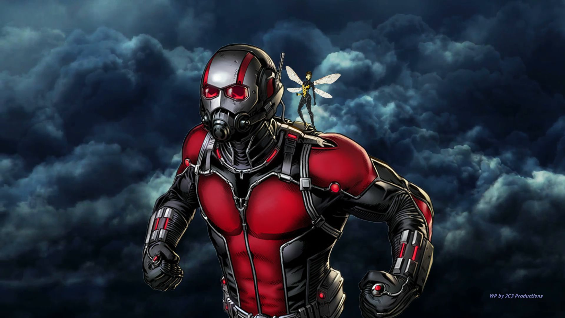 ANT-MAN Wallpaper - The Wasp 2 by Curtdawg53