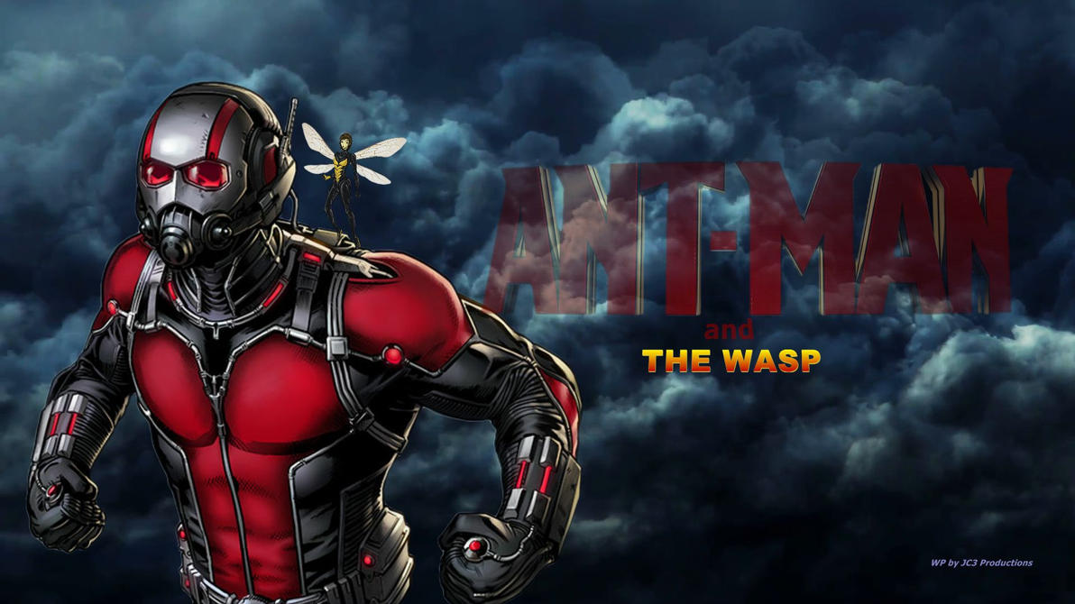 ANT-MAN Wallpaper - The Wasp by Curtdawg53