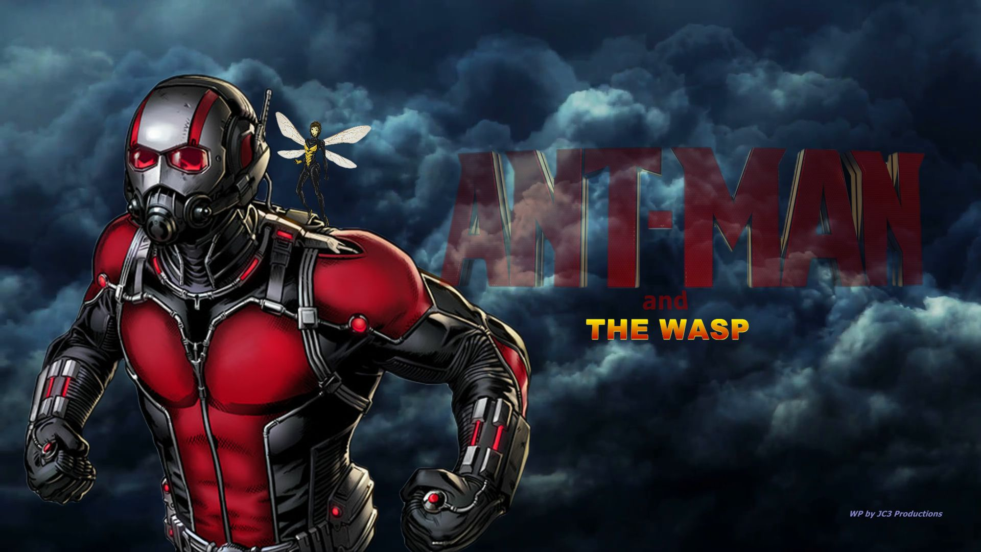 Ant Man And The Wasp Wallpaper: The Wasp By Curtdawg53 On DeviantArt