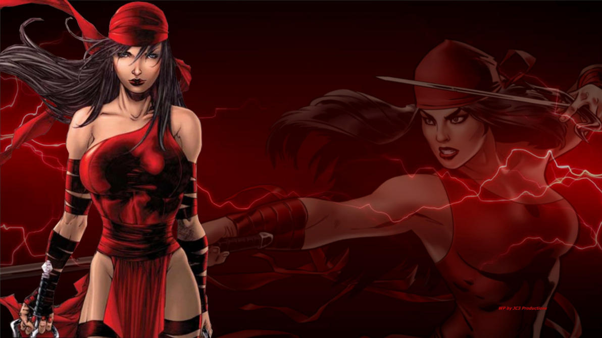 Elektra Wallpaper - Electric. 1 by Curtdawg53