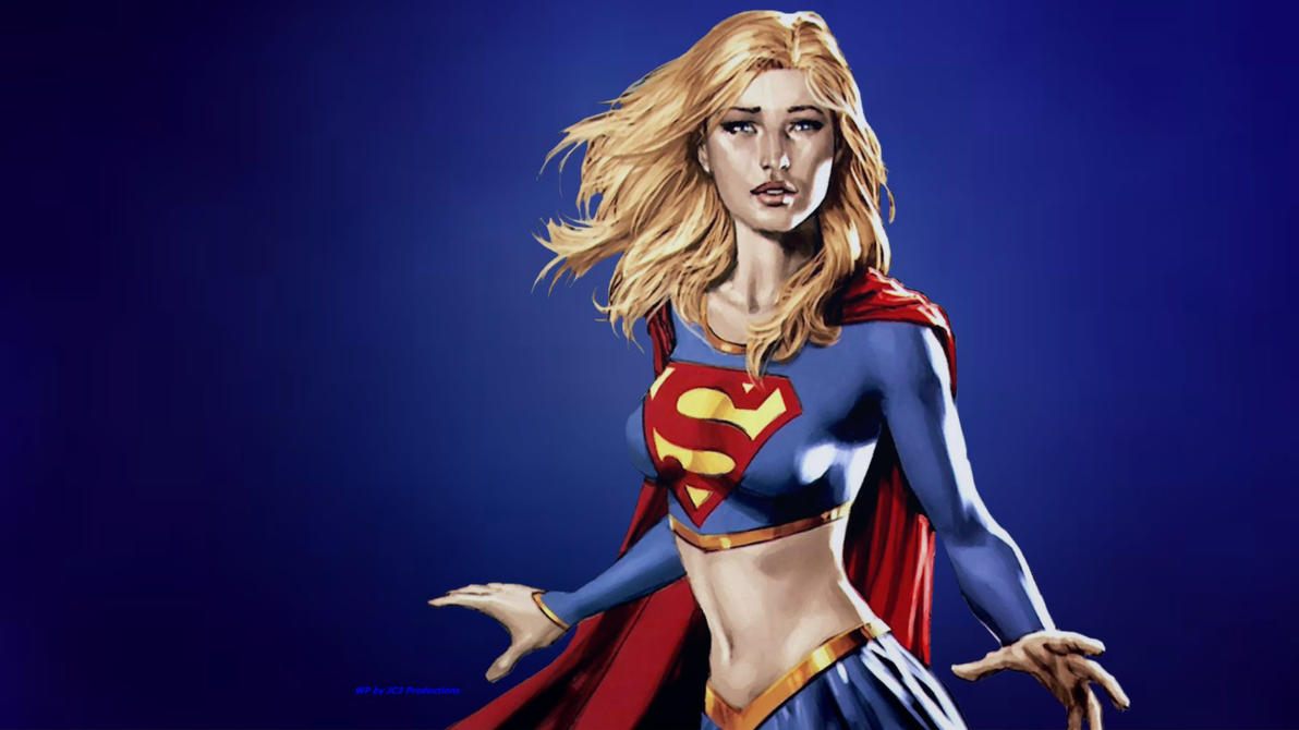 Supergirl Wallpaper - Up Close by Curtdawg53
