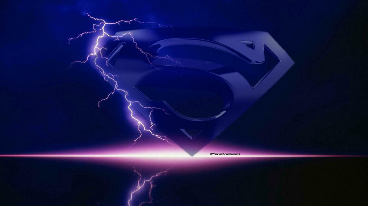 Super Wallpaper - Emblem Lightning by Curtdawg53