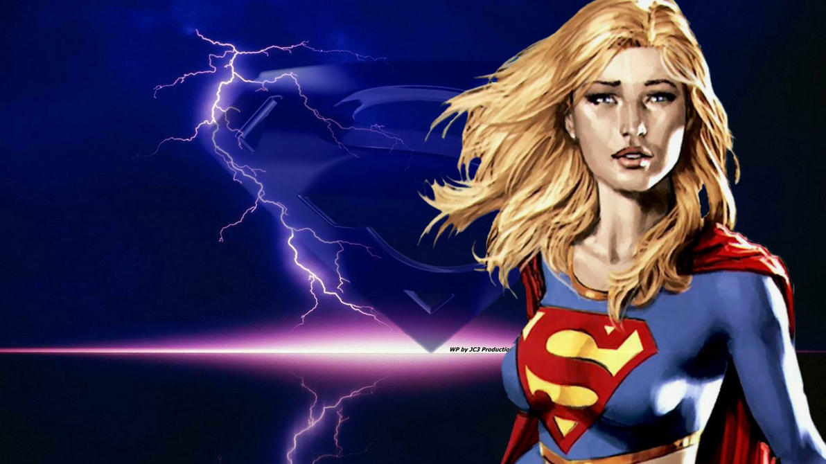 Supergirl Wallpaper - Lightning by Curtdawg53