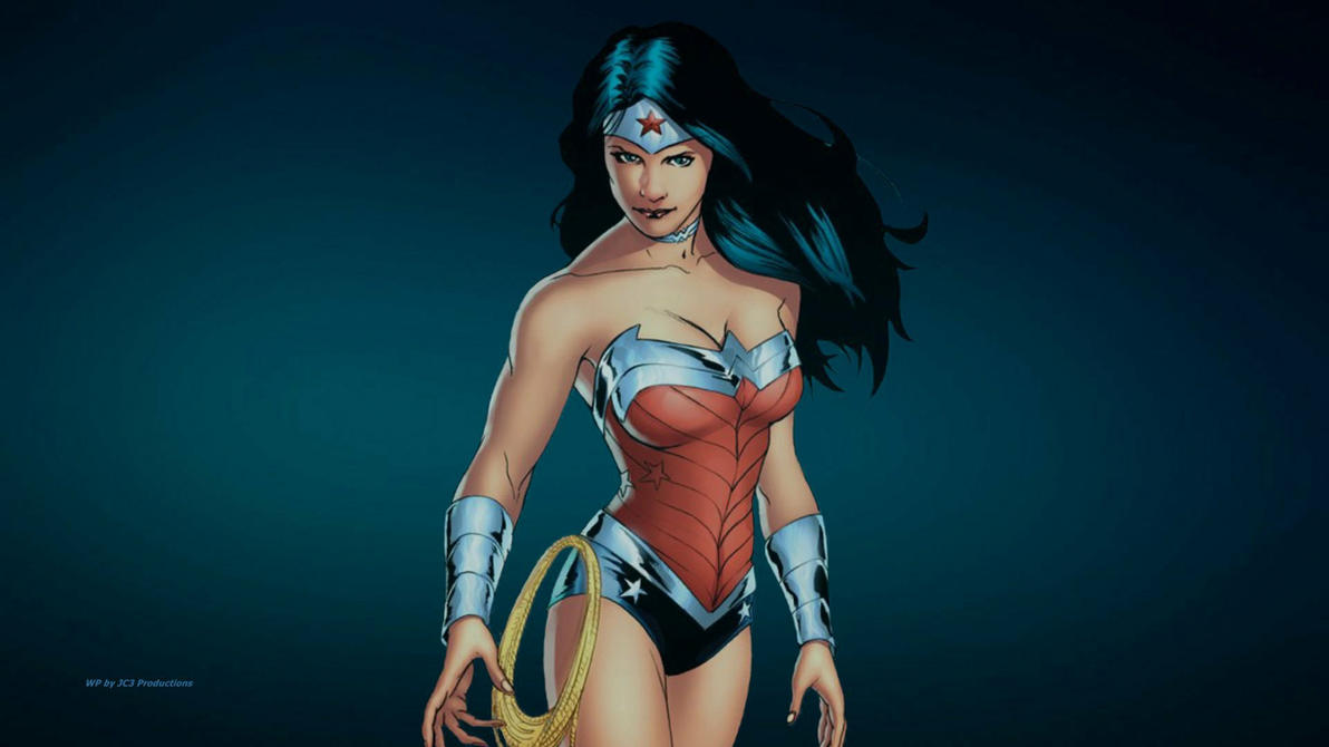 Wonder Woman Wallpaper - Alone by Curtdawg53