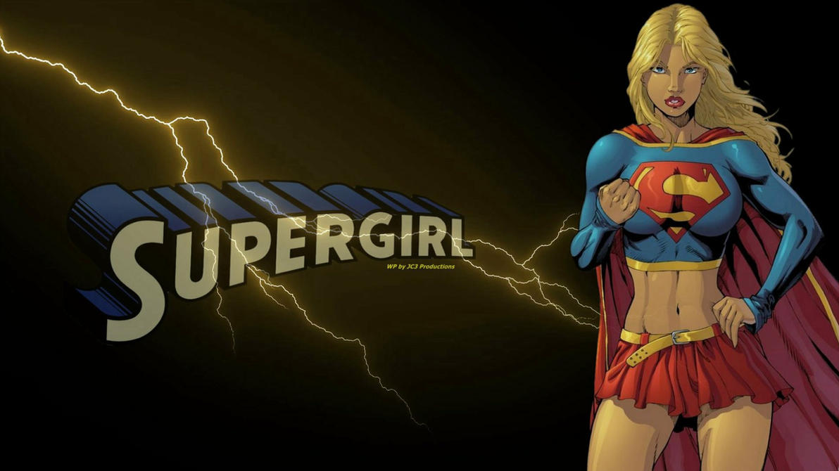Supergirl Wallpaper - And Lightning by Curtdawg53