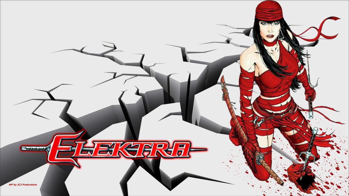 Elektra Wallpaper Earthquake 2 by Curtdawg53