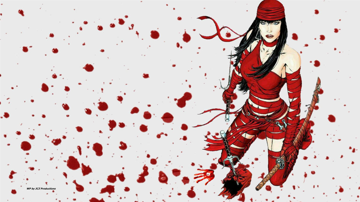 Elektra vs Daredevil 2 wallpaper by Curtdawg53
