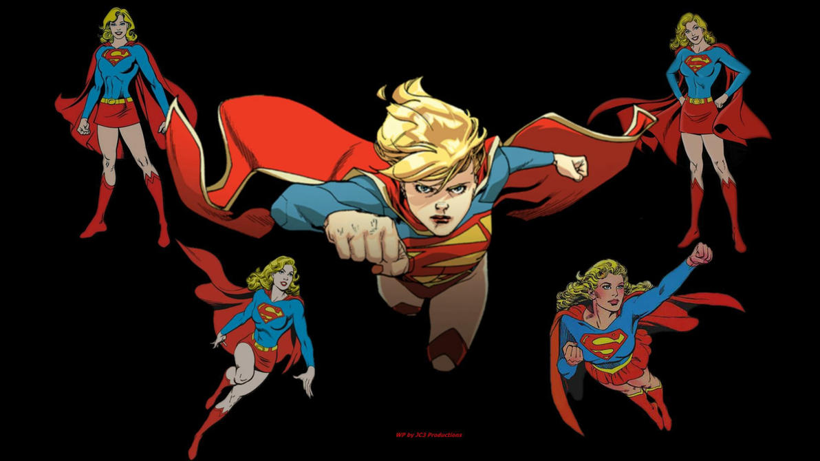 Supergirl Wallpaper - Times 5 Again by Curtdawg53