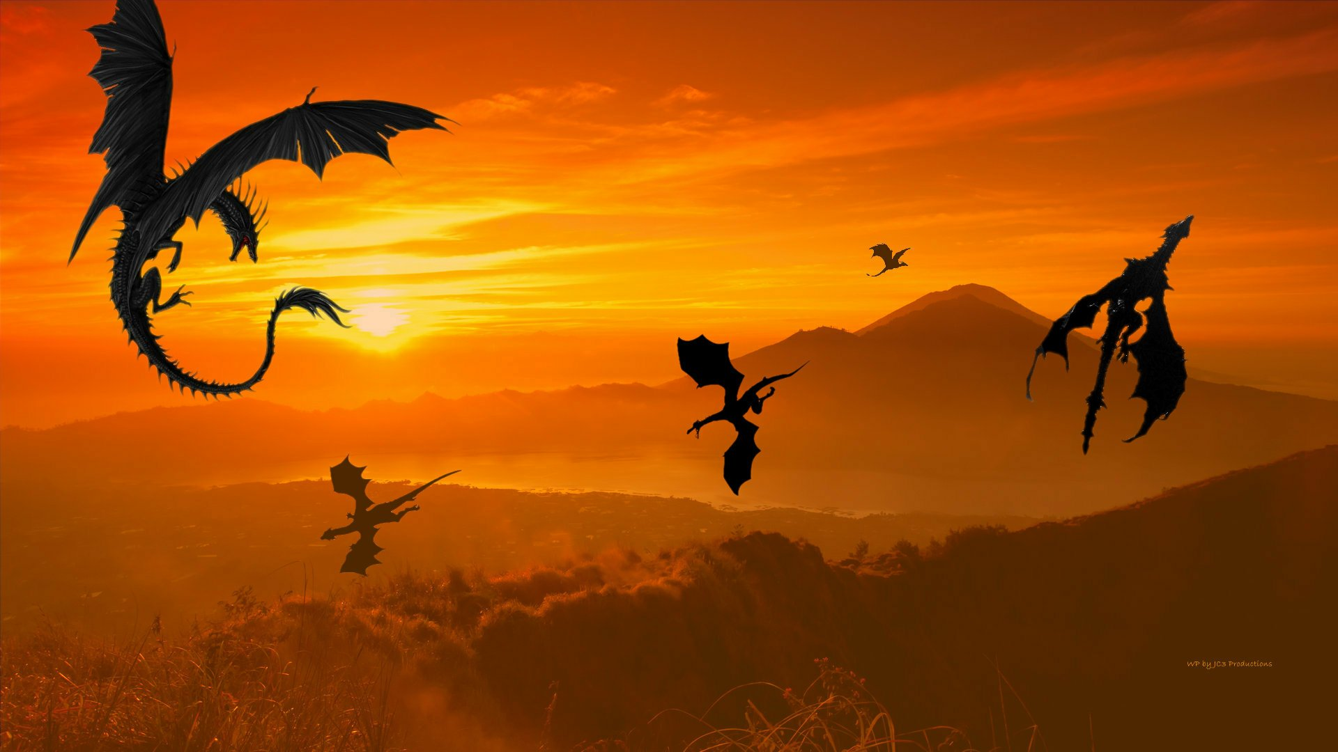 Dragon Wallpaper In Dragon Valley by Curtdawg53