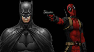 Deadpool Wallpaper - Batman Turns His Back