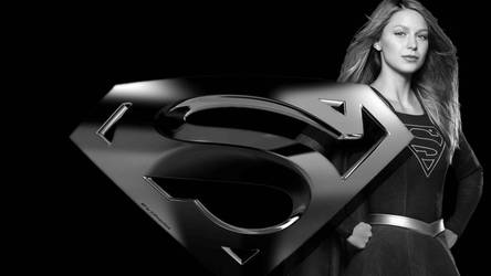 Supergirl and Icon Wallpaper 4