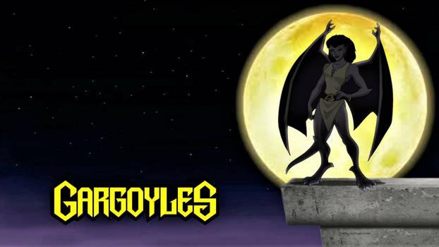 Angela (Gargoyle) Wallpaper