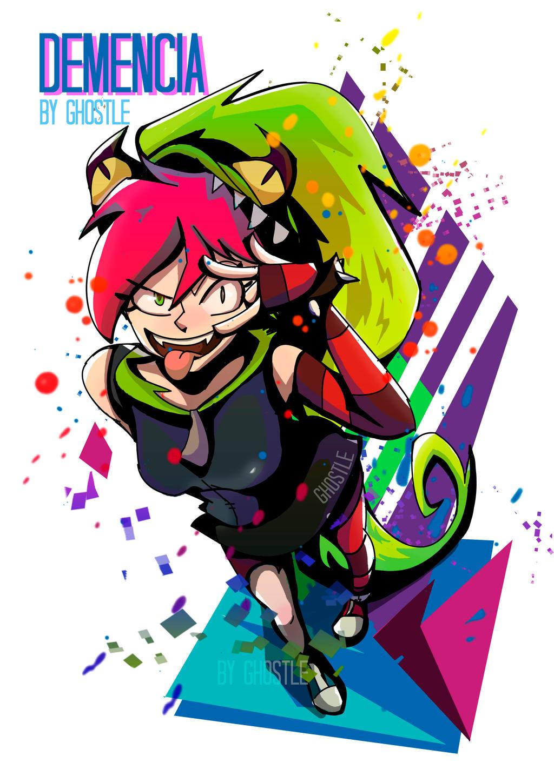 Demencia Fan Art by GhostleArt